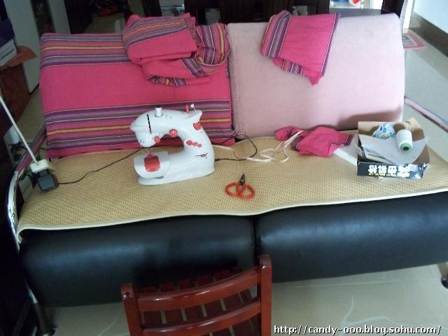 自制沙发套(附详细图)