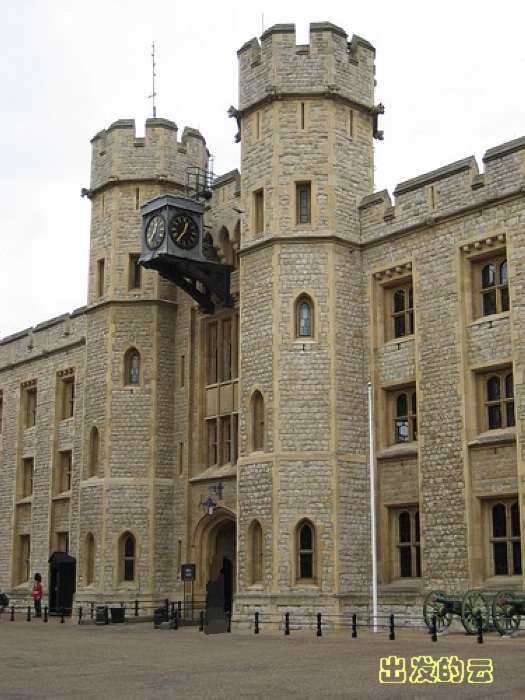 进入伦敦塔的游客几乎
