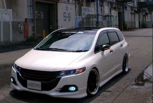 日本本土出版的奥德赛改装车高清图片