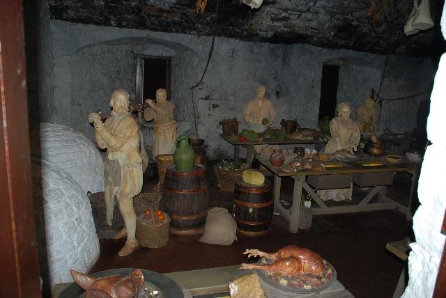 在爱丁堡的城堡里看古代大厨是如何给帝王做饭