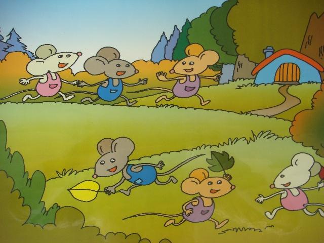 树叶手工制作小猪
