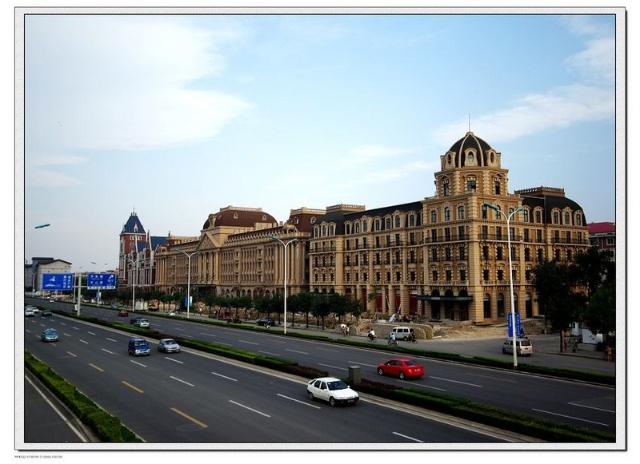 欧式建筑——世纪泰达大酒店全景