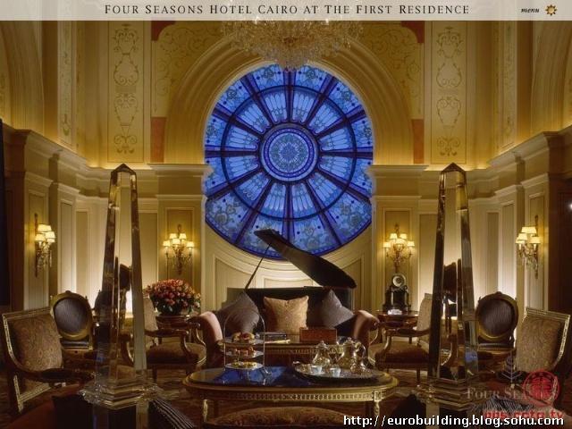 六-欧式别墅客厅效果图设计客厅之二