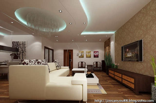 京洲世家130平米裝修效果圖--金三優裝飾