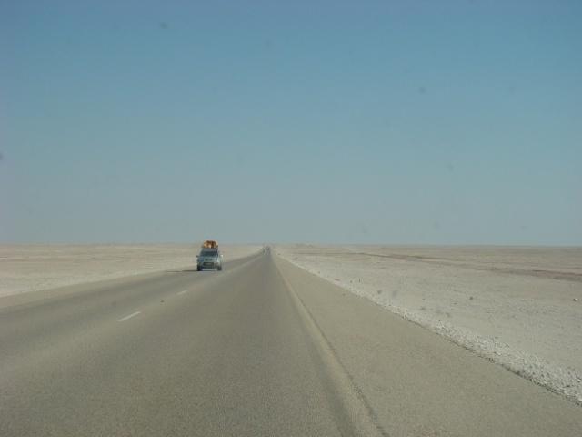 阿曼自驾游三:自驾路线及沿路风景