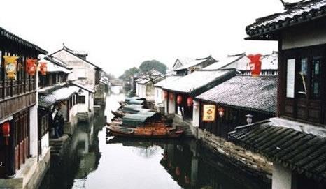 苏州旅游景点 周庄图片