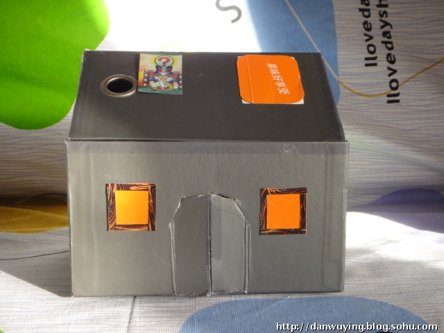 鞋盒制作小房子的过程步骤