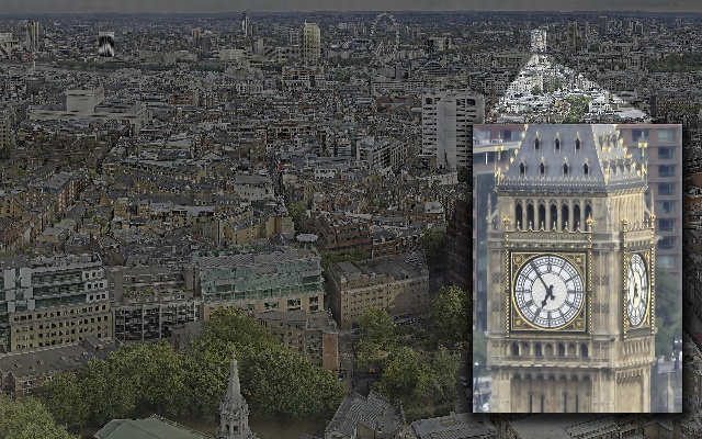 世界最高分辨率的360度全景 800亿像素的全景照片