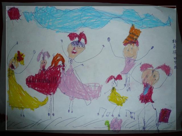 花样多多的lucky&我家爱画画的小公主(有画画作品)