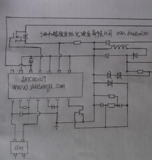 intc001107部分电路图
