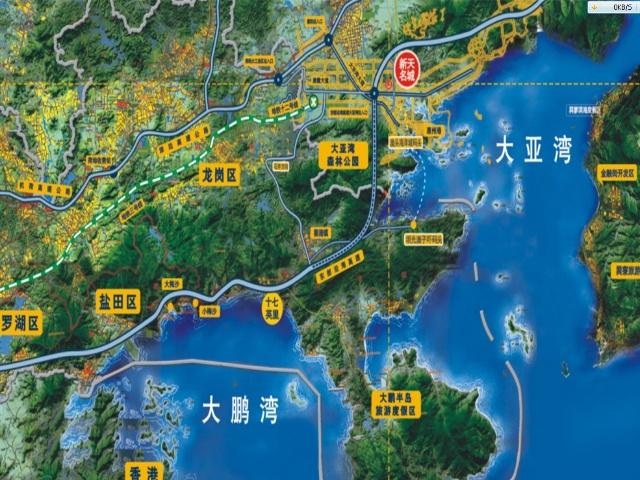 香港a21线路图