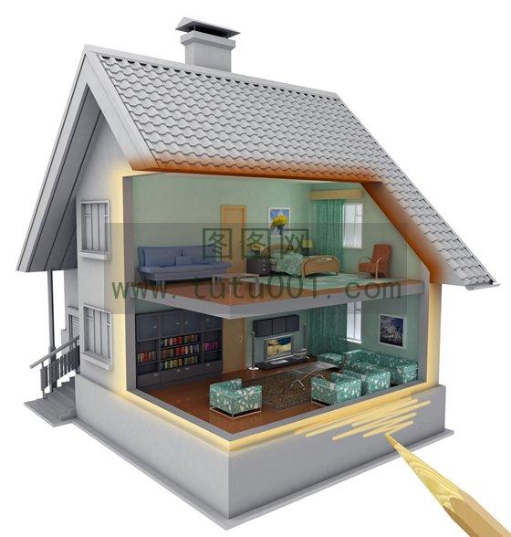房屋结构设计图图片下载