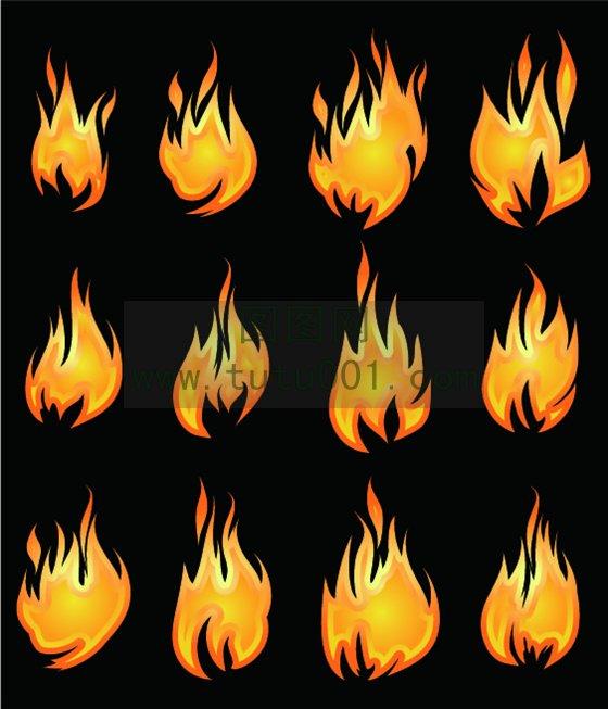 火焰花纹效果图片-花纹边框素材-搜狐博客