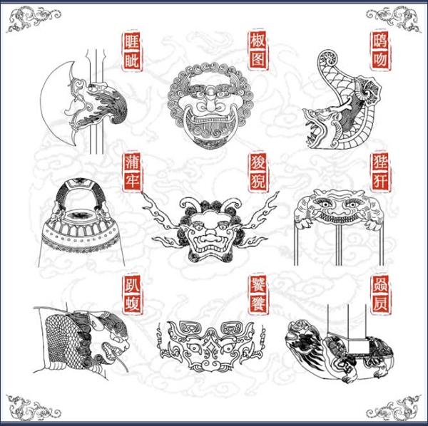 藏式木雕狮子图片