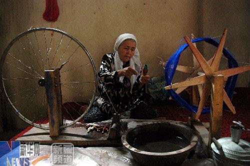 神奇的纺织工具----毛鹏飞图片