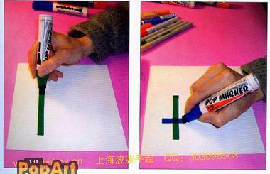 郑州手绘pop培训 郑州pop培训 手绘pop培训 手绘pop拿画笔的基本方法