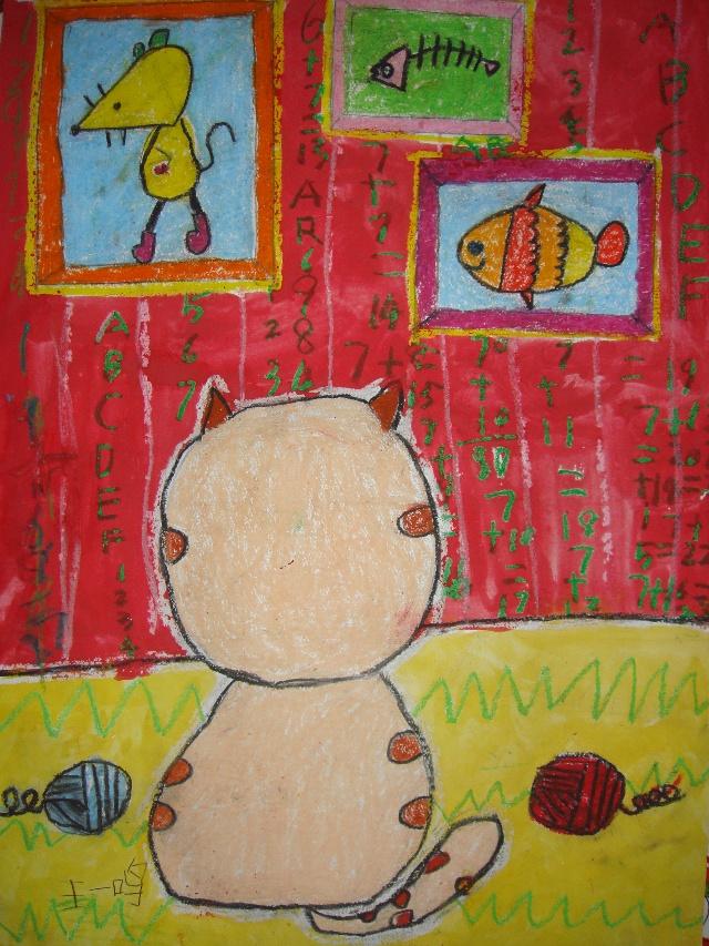 我的数学梦儿童画